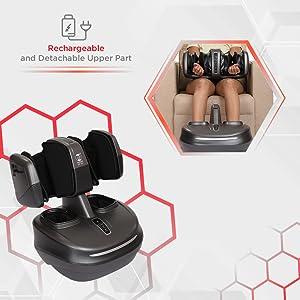 rechargeable wireless foot leg massager