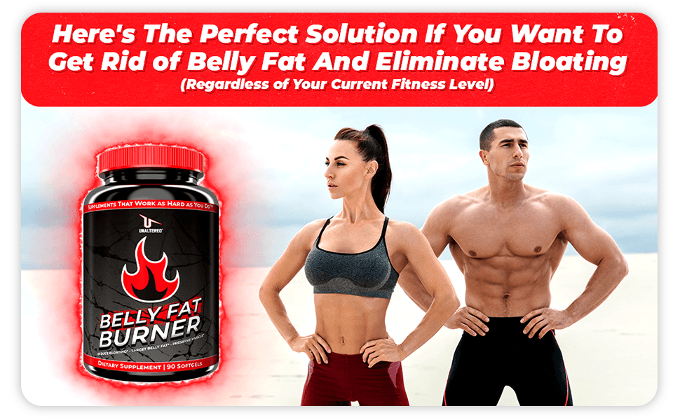 CLA - Belly Fat Burner - Lose Stomach Fat and Eliminate Bloating