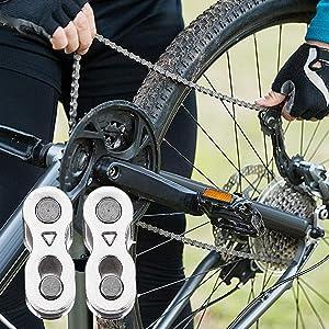 Aestm 7 paar fiets ontbreekt link voor 6, 7, 8, 9, 10 snelheidskettingen, fietskettingen