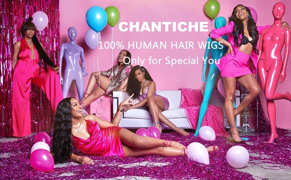 Long Deep Wave Curly Human Hair Wigs for Black Women Glueless Brazilian U Part Wig with Middle Part