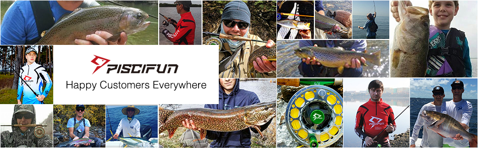 piscifun fly fishing