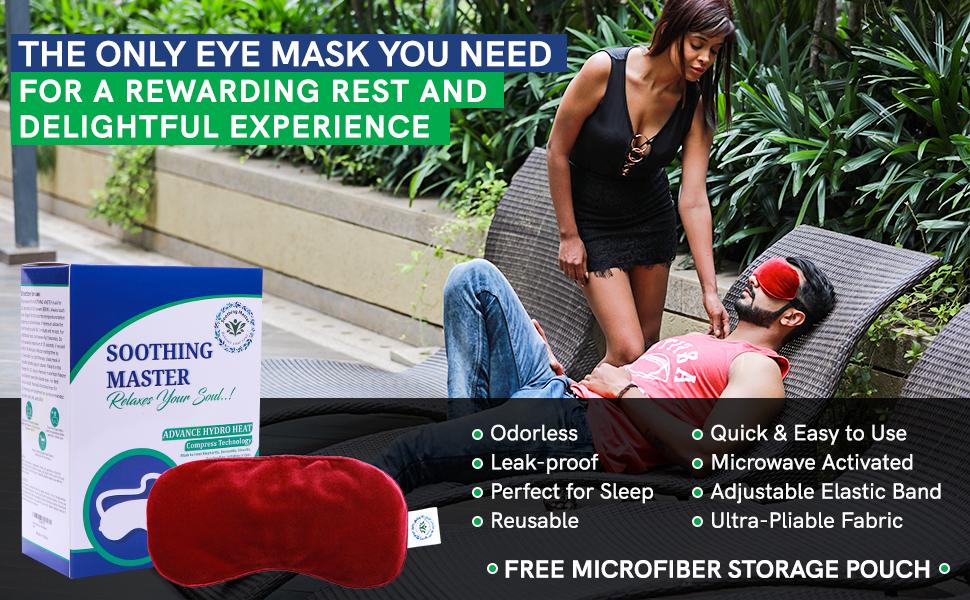 dry eye masks heated puffy warm compress for eyes hot eye mask sleep mask weighted eye masks women