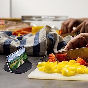 Kitchen phone holder