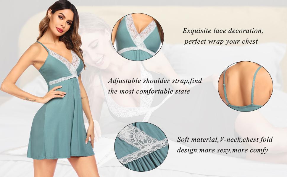 women sexy nightgown sexy slip nightgown