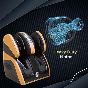 heavy duty motor leg massager