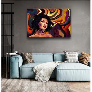 AMEMNY African American Women Wall Art