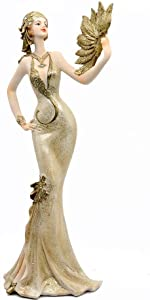 Golden Lady Figurine