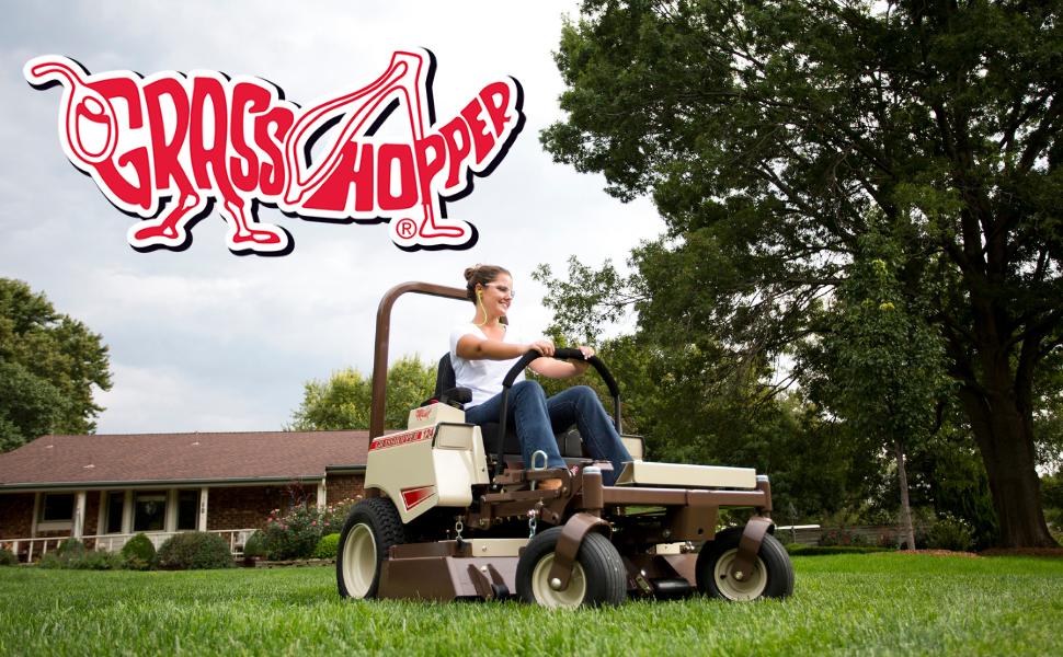 Female Lawn Mower