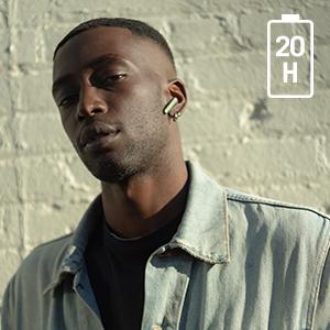 urbanista, stockholm plus, earphones, earbuds, true wireless, bluetooth, style, man, model