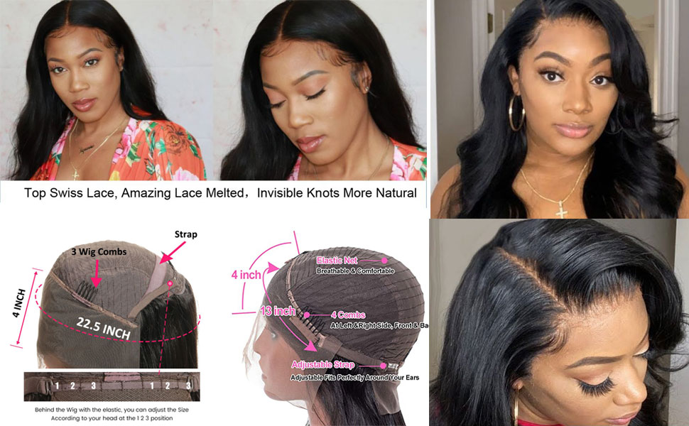 13x4 body wave wigs