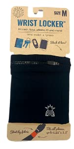 medium wrist locker wallet