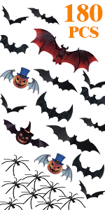 Halloween Bats Decorations