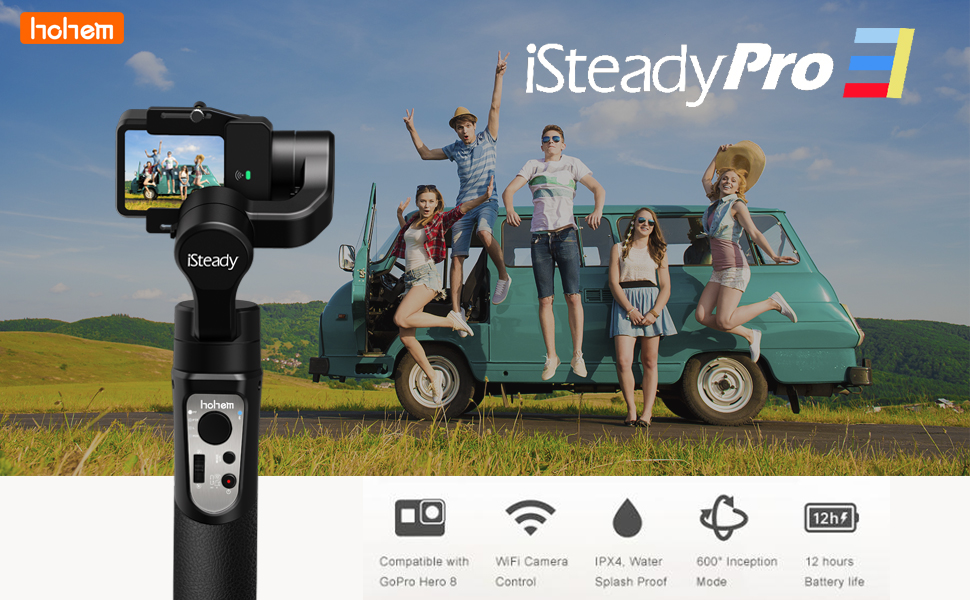 Gimbal Stabilizer for GoPro