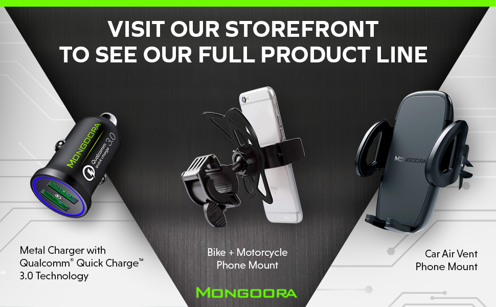 Mongoora air vent phone mount