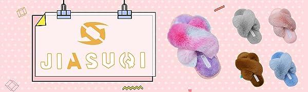 Kids Boys Girls Cross Open Toe Fuzzy House Slippers Cozy Memory Foam Plush Furry Slides Slipper
