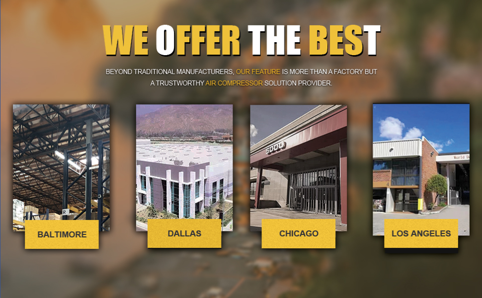 We offer the Best