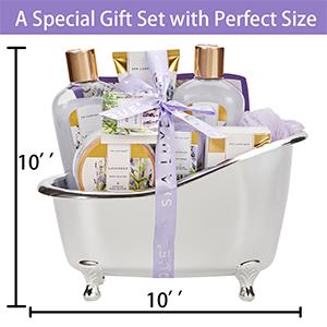 spa gift set for women