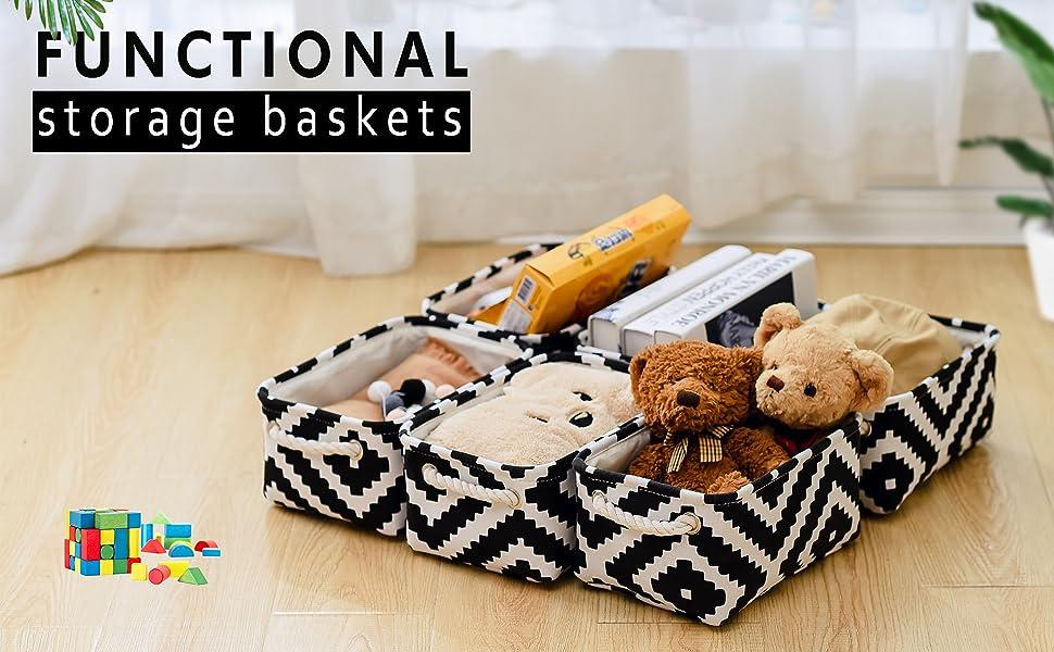 baskets for shelf