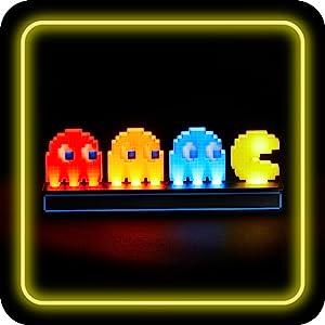 Pac-Man iconos luz normal modo