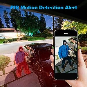 PIR human detection