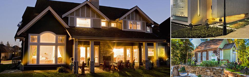 Solar Powered Spotlights Outdoor