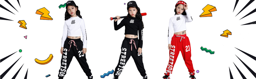 hip hop outfit girls