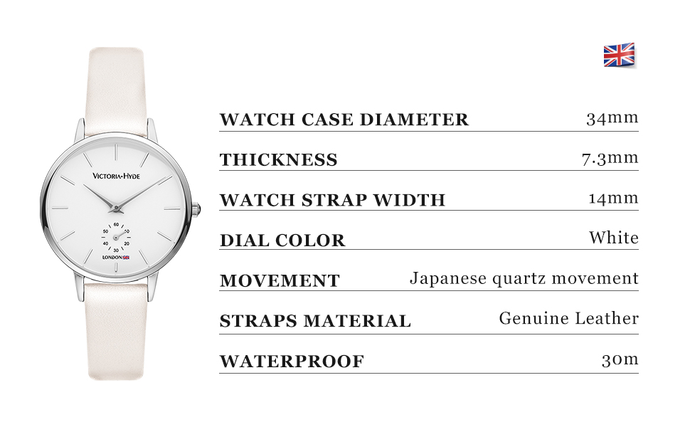 women watches ladies wristwatch analog quartz detachable genuine leather strap gifts for her