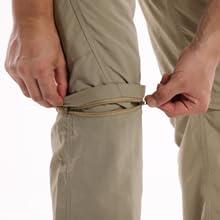 zip off pants