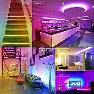 RGB LED Strip light 32.8ft