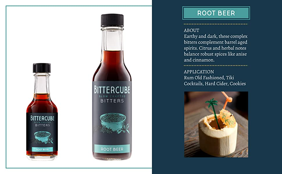 root beer bitters aromatic bitters cinnamon bitters cocktail bitters