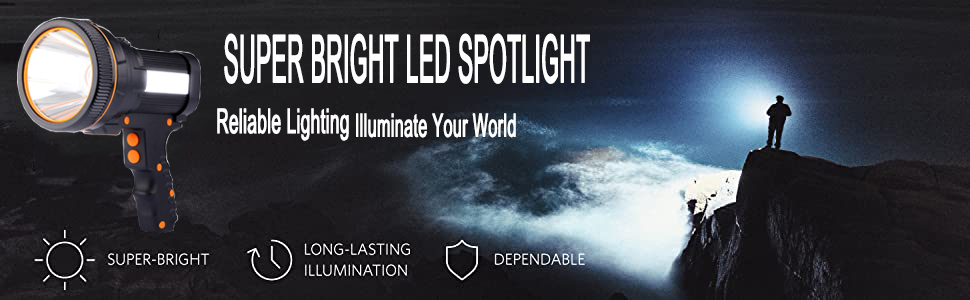 super bright led spotlight