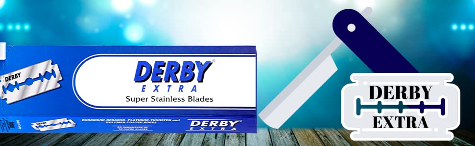 Derby EXTRA Razor Blades