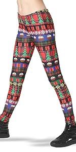 fairisle legging, holiday legging, festive legging, ugly christmas legging, ugly xmas legging