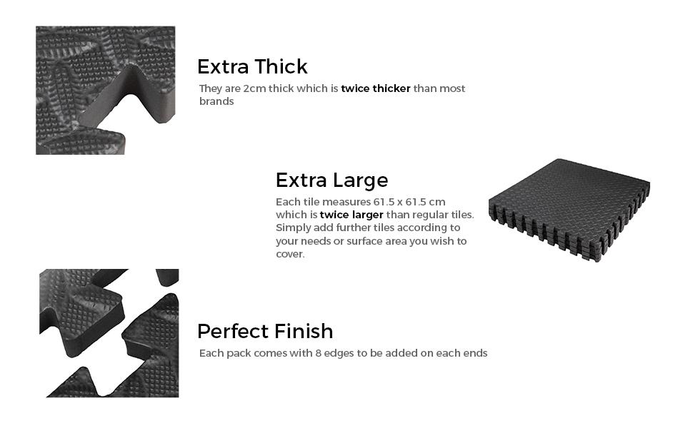 heavy mat benefits