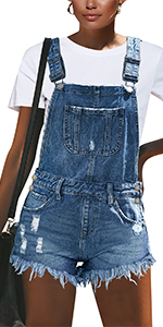 overalls for women summer casual denim jeans shorts for teen girls juniors overall shorts