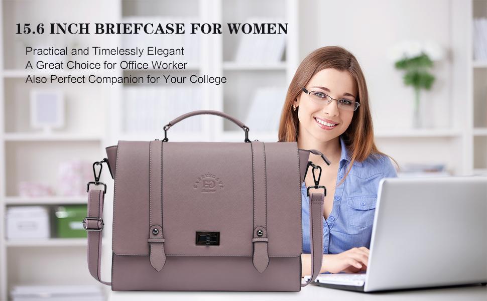 work tote laptop bag computer messenger bag women briefcase diaper purse Dark blue top handle leather handbag with embroidery design