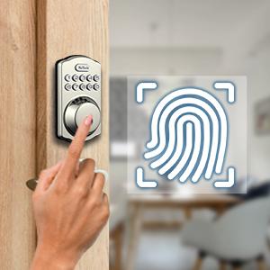 fingerprint keyless entry door lock
