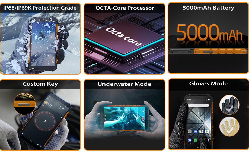 ulefone armor x5 pro rugged unlocked phones
