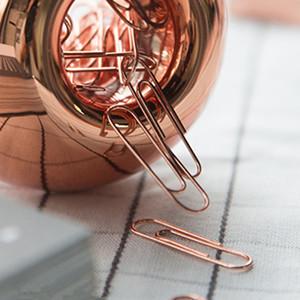 magnetic lid cute paper clips dispenser fashion office stationery for boys girls men women