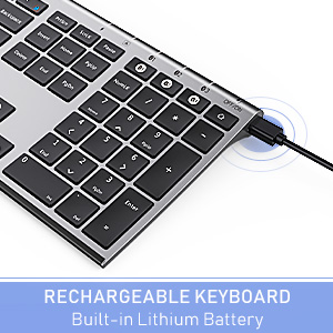 multi device wireless bluetooth keyboard full size slim space gray 1219 (5)