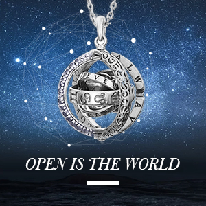 astronomical sphere necklace