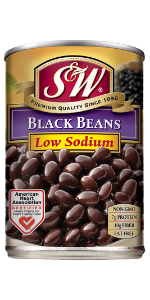 black beans bulk canned cans can