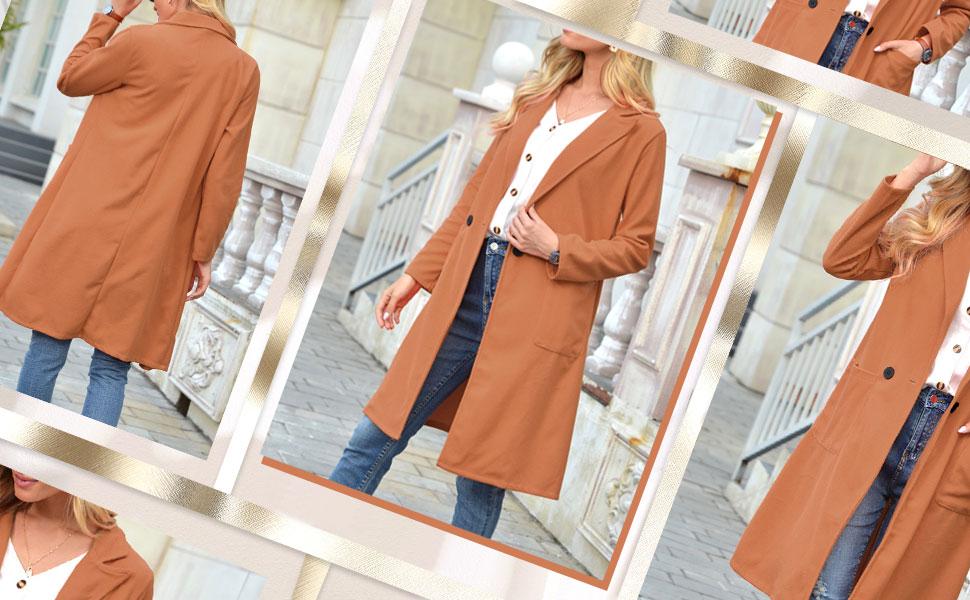 Women Pea Coat