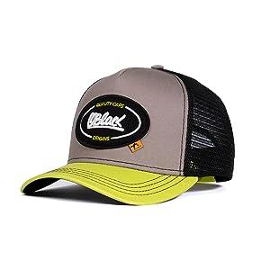 Oblack Gorra Trucker Origins Duality Yellow Beisbol Ajustable ...