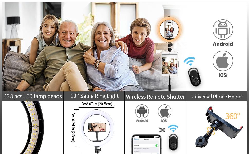 Selfie wireless remote control