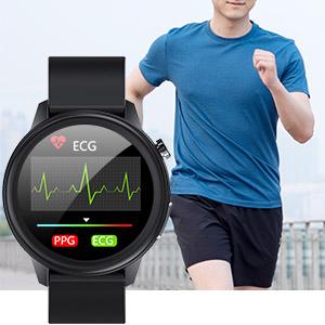 Smartwatch mit HR.