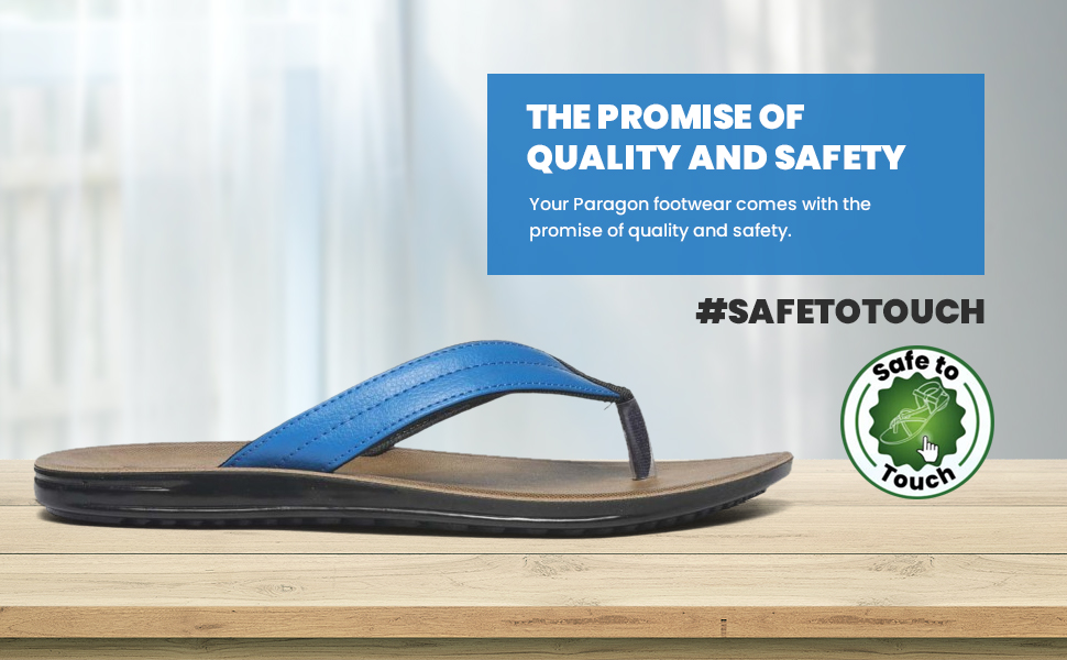 Your Paragon footwear comes with the promise of quality and safety