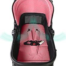 standard baby strollers