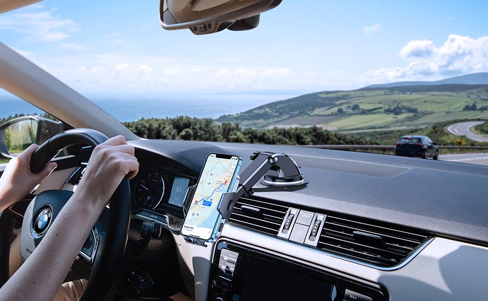 phone holder for car dashboard