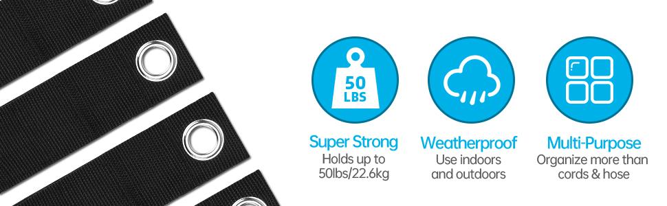 reusable storage straps
